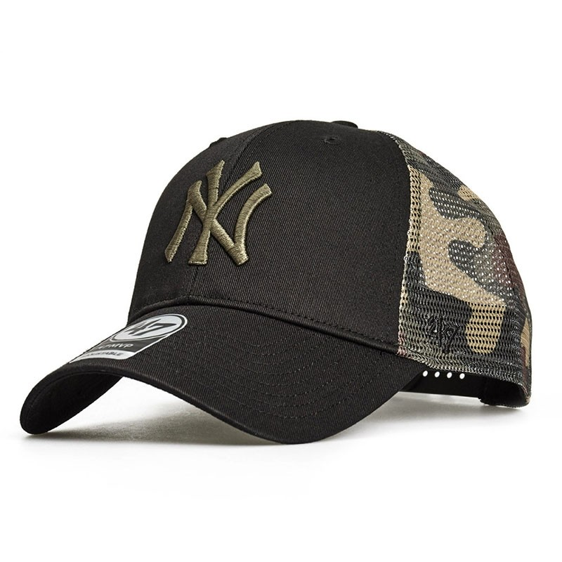 Кепка 47 Brand BACK SWITCH NEW YORK YANKEES (B-BCKSW17CTP-BK)