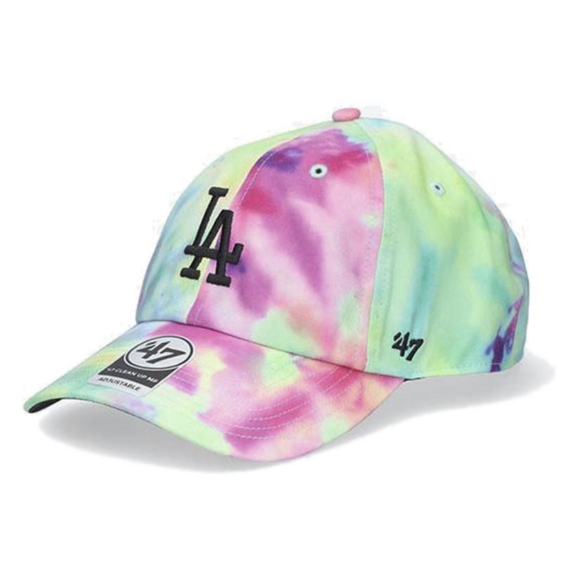 Кепка 47 Brand Los Angeles Dodgers Tie Dye Clean Up