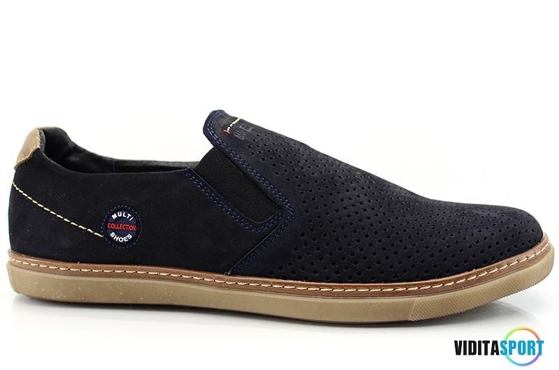 Мужские туфли Multi Shoes Chinos син. перф.