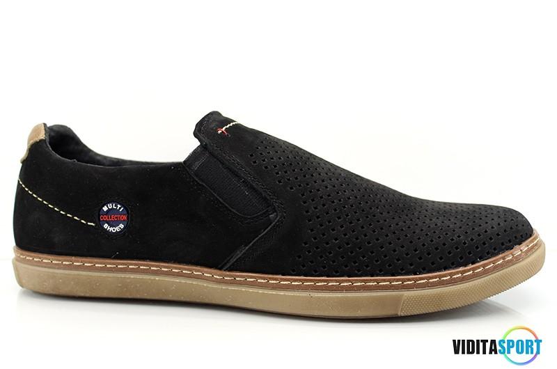 Мужские туфли Multi Shoes Chinos чер. перф.