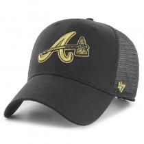 Кепка 47 Brand Atlanta Braves Branson Metallic 47 MVP